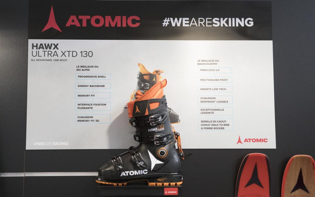 New ski boot Atomic HAWX XTD