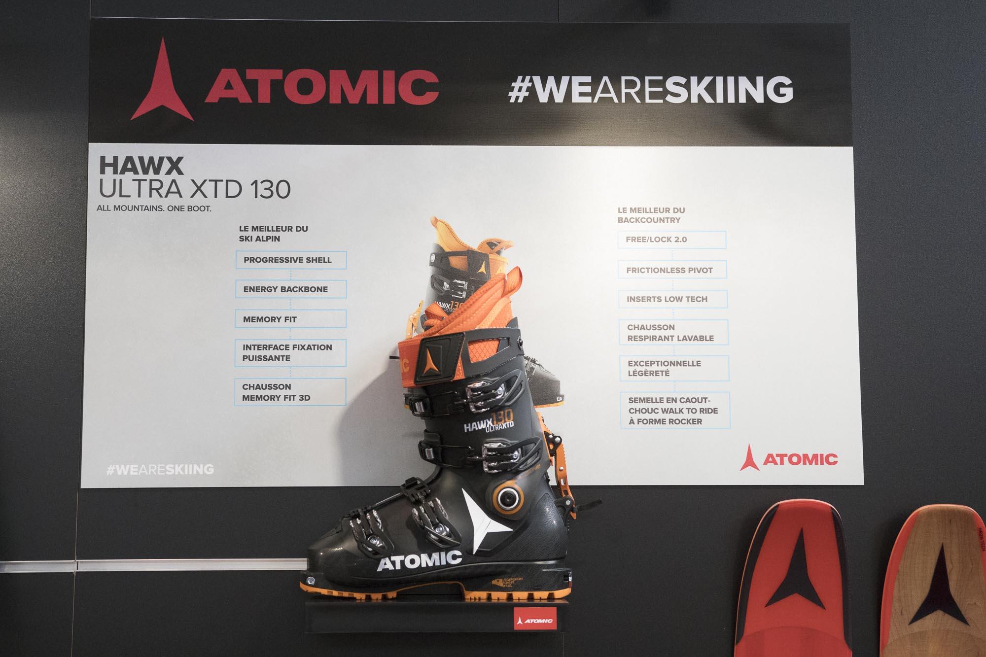 the best attitude 91b12 75cac New ski boot Atomic HAWX XTD - Sport Boutique La Clusaz