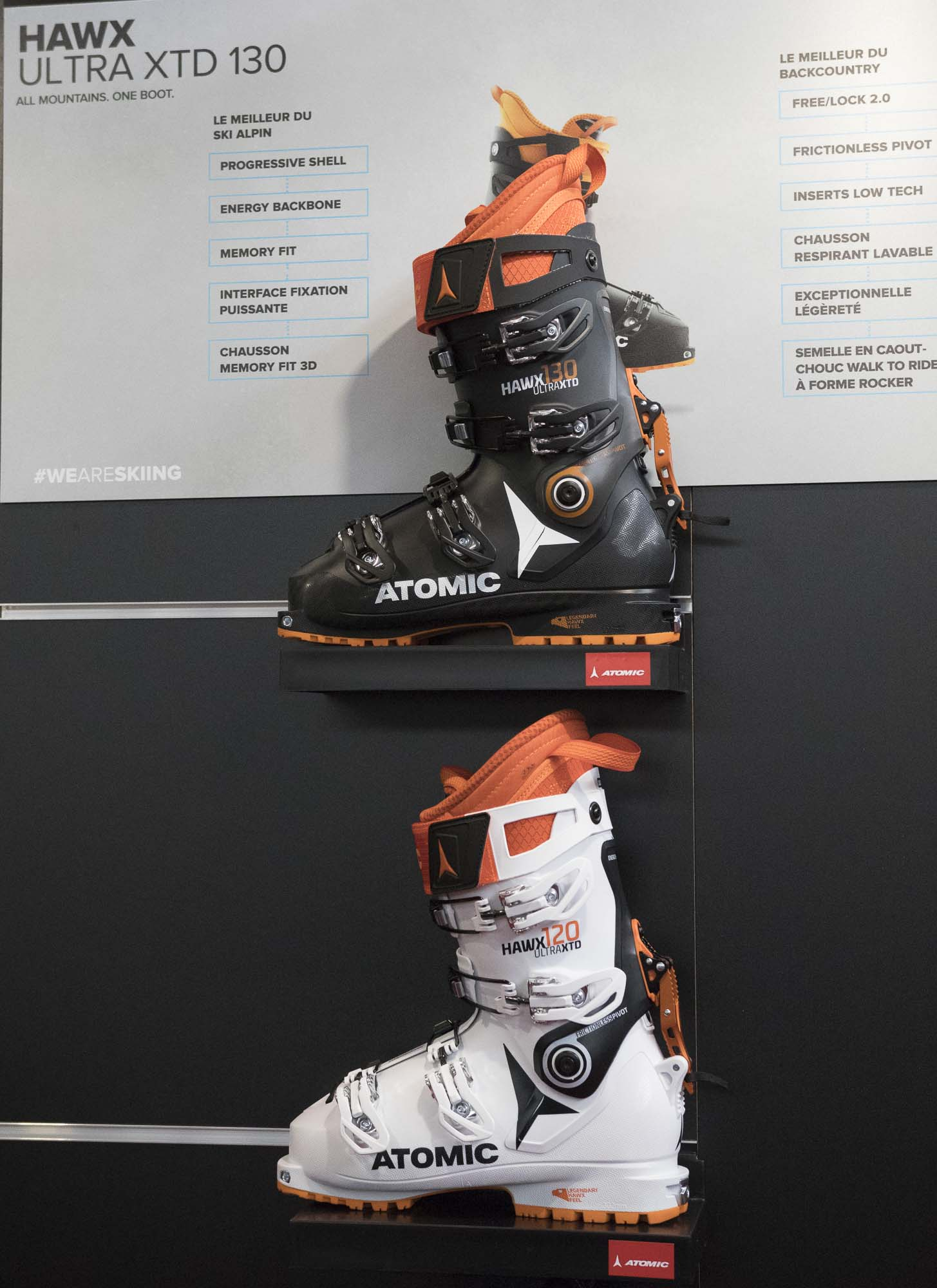 the best attitude 3bc7d 80f20 New ski boot Atomic HAWX XTD - Sport Boutique La Clusaz