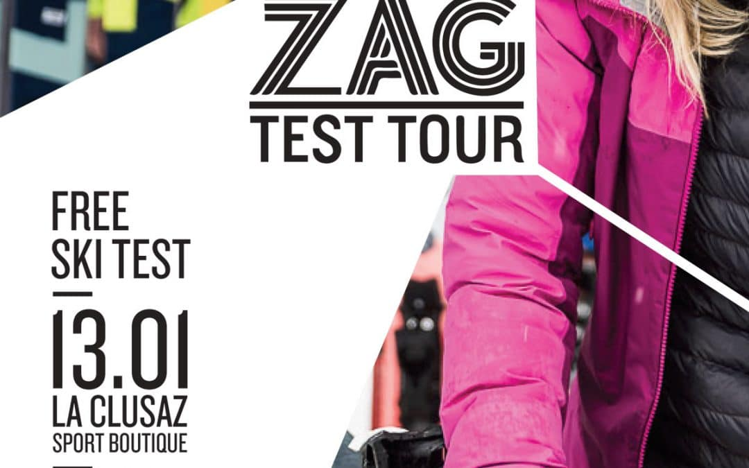 Ski test day ZAG et Exonde