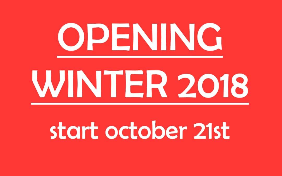 2018 Winter season opening Sport Boutique La Clusaz